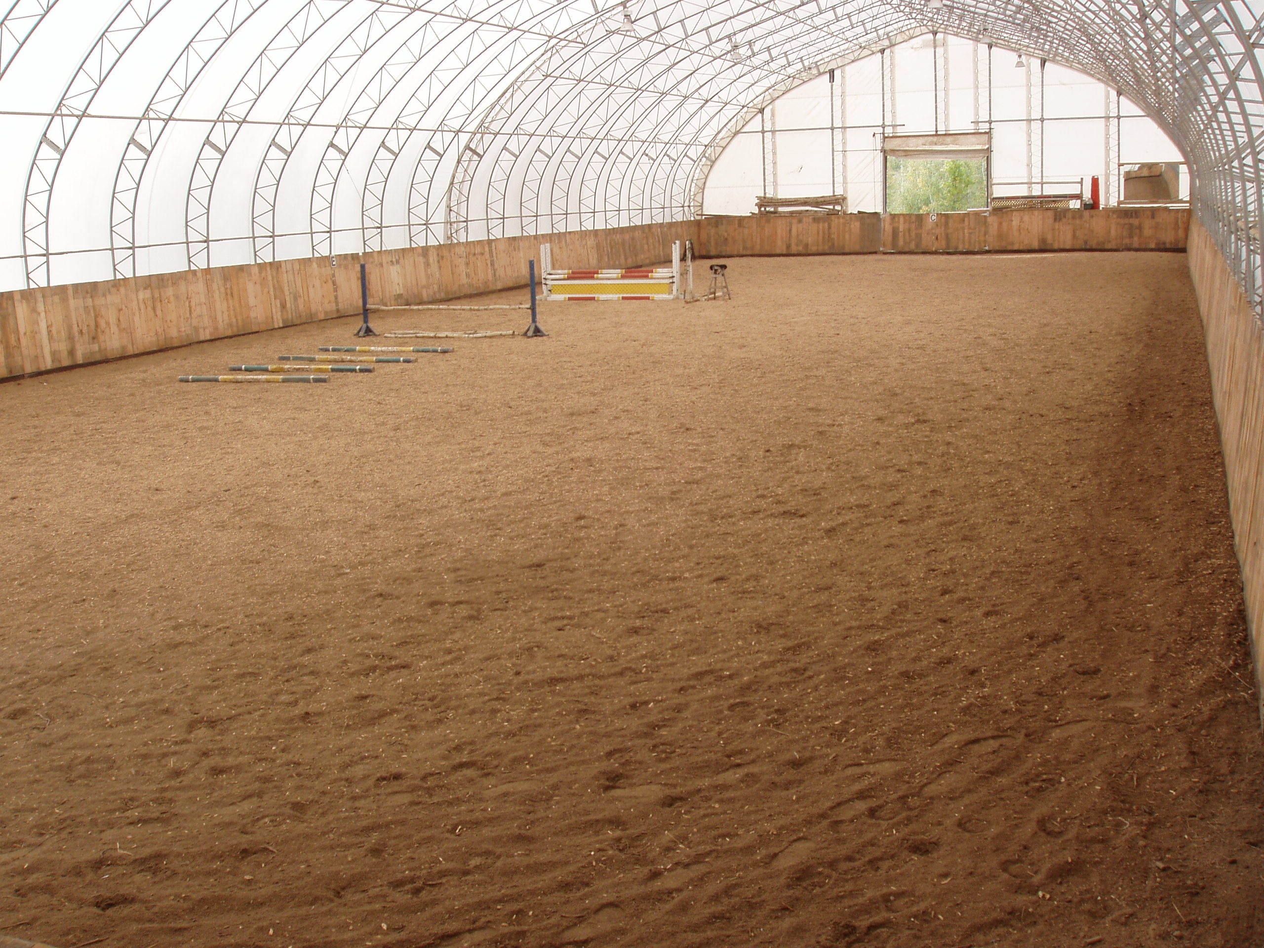 Md stables installations for Manege interieur